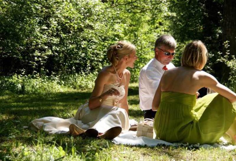 Picknick im Luitpoldpark
